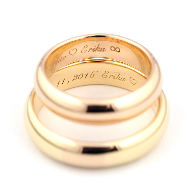 静岡きたがわ宝石のジュエリー修理 指輪の文字刻印