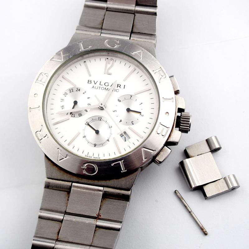 静岡きたがわ宝石の時計修理 ブルガリの時計のバンド調整