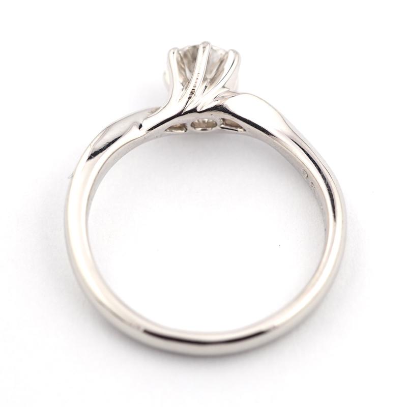 静岡きたがわ宝石のジュエリー修理 プラチナの指輪のサイズ直し