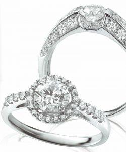 静岡きたがわ宝石のジュエリーリフォーム ダイヤモンドのリング