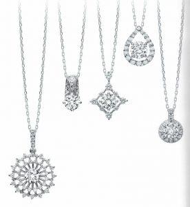 静岡きたがわ宝石のジュエリーリフォーム ダイヤモンドのペンダント