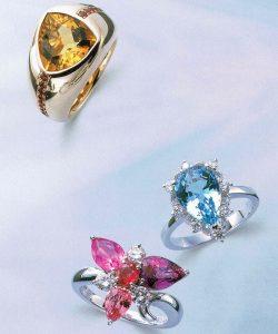 静岡きたがわ宝石のジュエリーリフォーム 色石の指輪