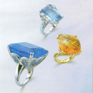 静岡きたがわ宝石のジュエリーリフォーム 大粒の宝石