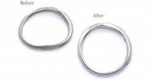 静岡きたがわ宝石の修理メニュー 指輪リングの変形直し