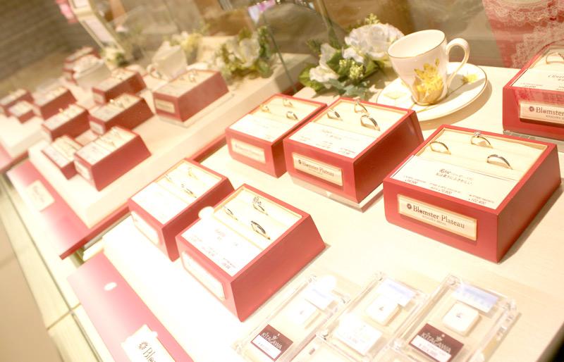 KITAGAWA Bridalの結婚指輪と婚約指輪の品揃え