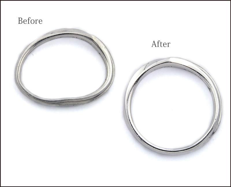 結婚指輪の変形直し