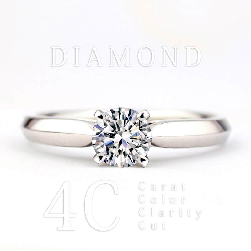 ダイヤモンドの価値基準4C