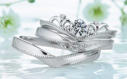 ディアレストの結婚指輪と婚約指輪16