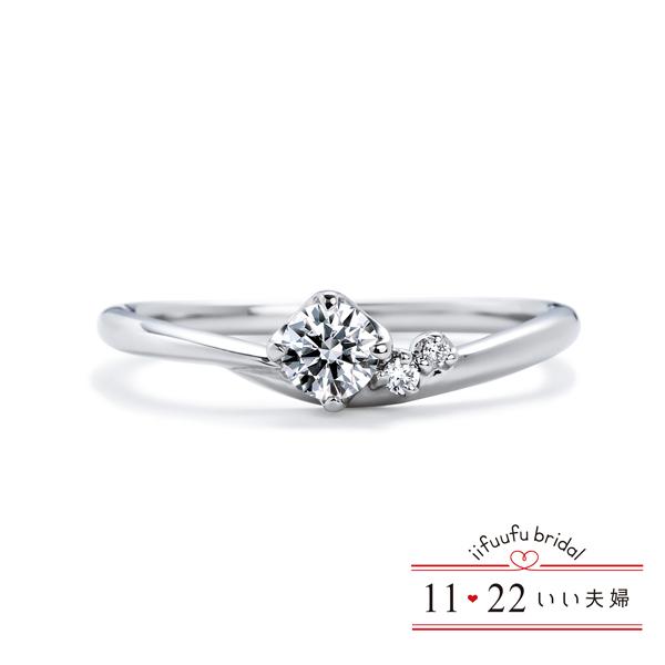 いい夫婦ブライダルの結婚指輪と婚約指輪26