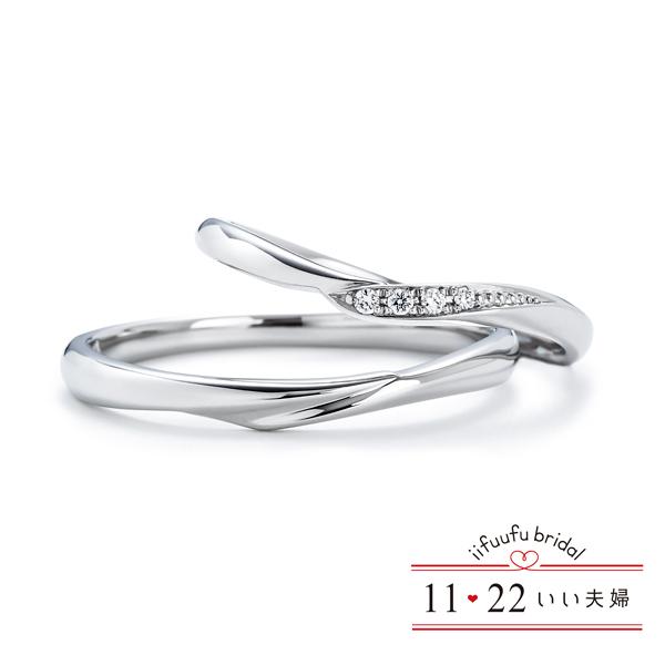 いい夫婦ブライダルの結婚指輪と婚約指輪49