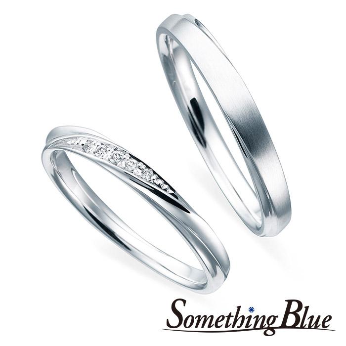 サムシングブルーの結婚指輪4