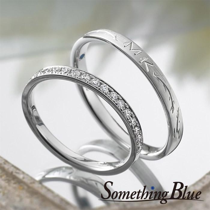 サムシングブルーの結婚指輪6