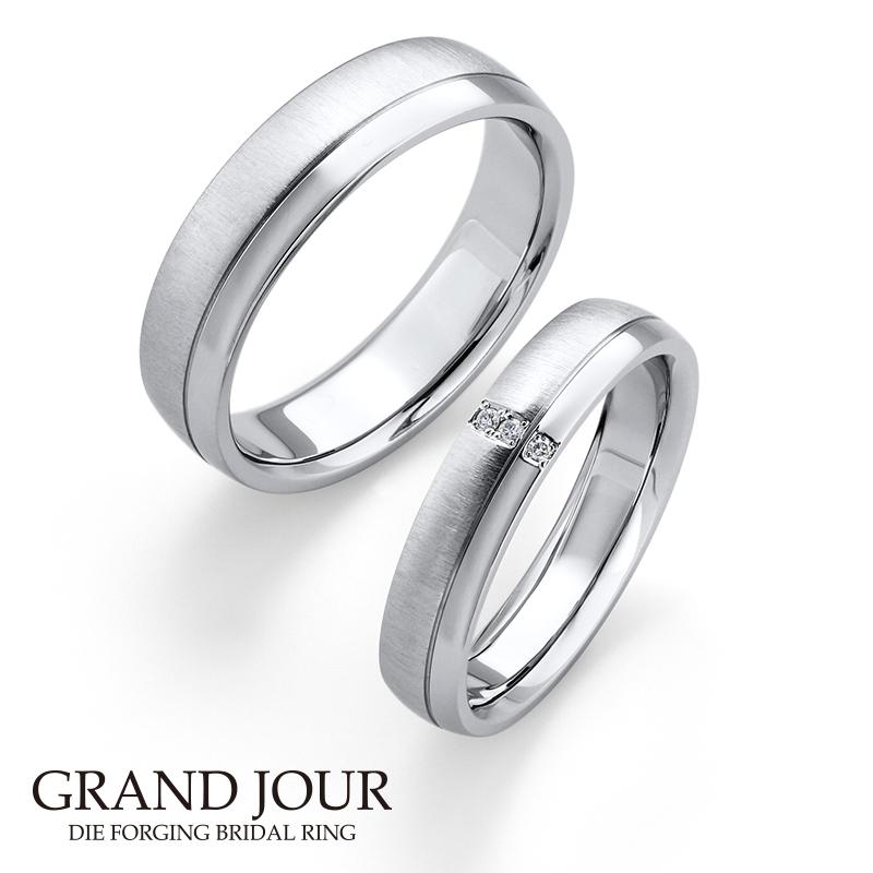 鍛造の結婚指輪グランジュール15