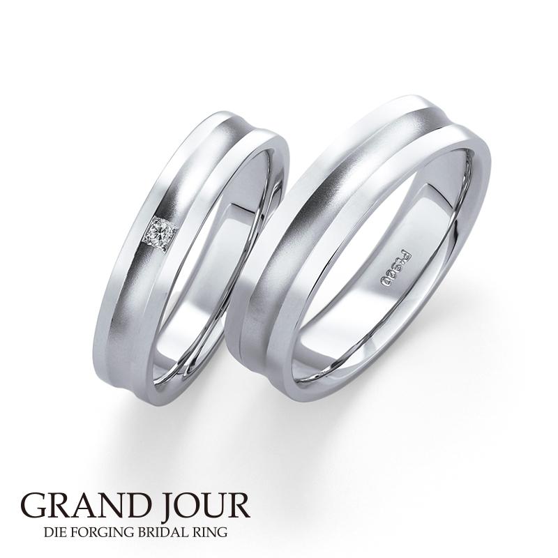 鍛造の結婚指輪グランジュール13