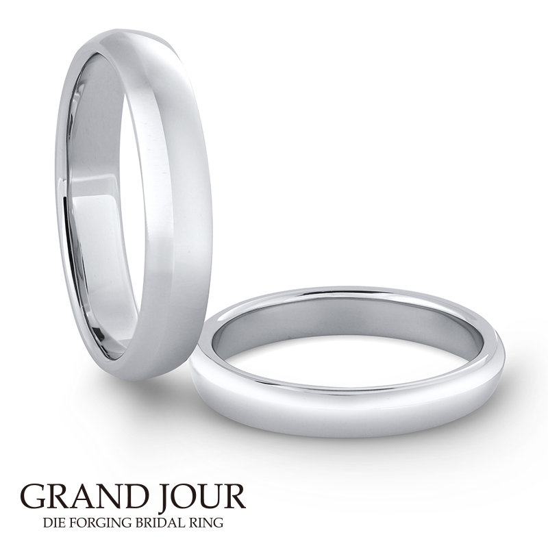 鍛造の結婚指輪グランジュール9