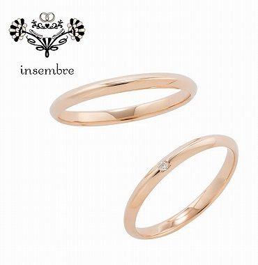 ピンクゴールドのマリッジリング(結婚指輪)静岡KITAGAWA Bridal