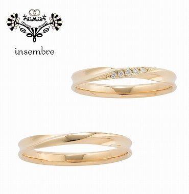 ゴールドのマリッジリング(結婚指輪)静岡KITAGAWA Bridal