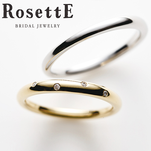 ロゼットの結婚指輪