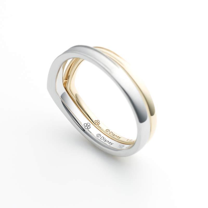 ディズニースチームボートウィリーの結婚指輪