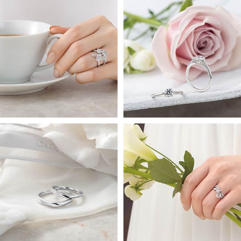 カフェリングの指輪のブランドイメージ