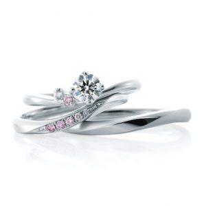 カフェリングのエンゲージリング(婚約指輪)ローブドゥマリエ・静岡KITAGAWA Bridal