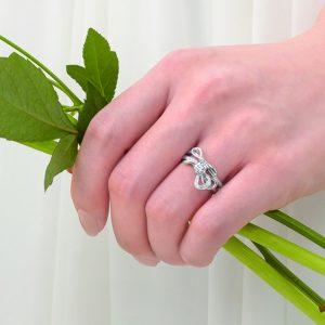 カフェリングのエンゲージリング(婚約指輪)静岡KITAGAWA Bridal