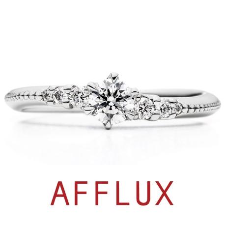 アンティークテイストのエンゲージリング(婚約指輪)静岡KITAGAWA Bridal