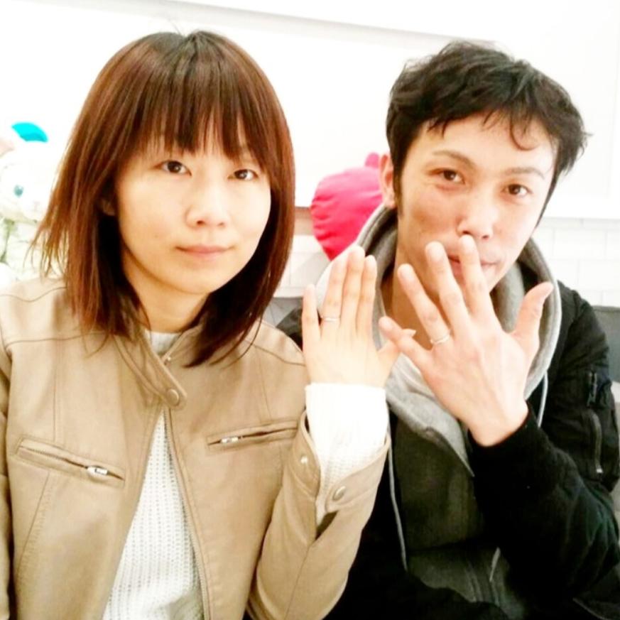 結婚指輪ご成約 静岡県の本間様