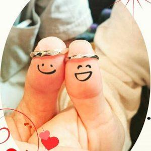 結婚指輪ご成約のお客様 富士宮市のナオちゃん&かっちゅん様ご夫妻