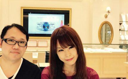 結婚指輪ご成約のお客様 静岡市のT&A様ご夫妻