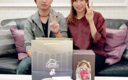 結婚指輪ご成約のお客様 静岡市葵区のベル様ご夫妻