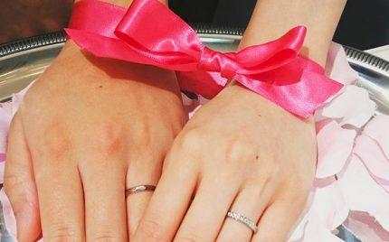結婚指輪ご成約の静岡市S&K様ご夫妻