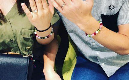 結婚指輪ご成約 静岡県藤枝市のまっきー様ご夫妻