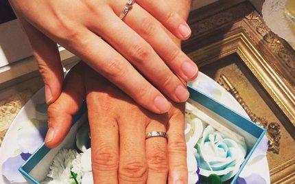 結婚指輪ご成約のお客様 マコト様ご夫妻 静岡県
