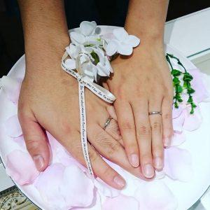 結婚指輪ご成約のお客様 静岡県静岡市のY&A様ご夫妻