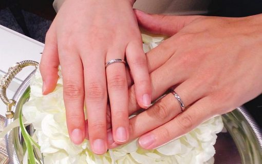 結婚指輪ご成約のお客様 T♡M様ご夫妻 静岡県静岡市