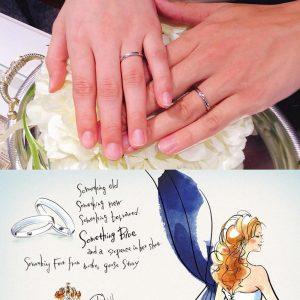 結婚指輪ご成約のお客様 T♡M様ご夫妻 静岡県