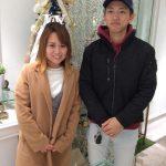結婚指輪ご成約のお客様 koki&kana様ご夫妻 静岡県