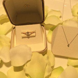 婚約指輪ご成約のお客様 アキ様 静岡県