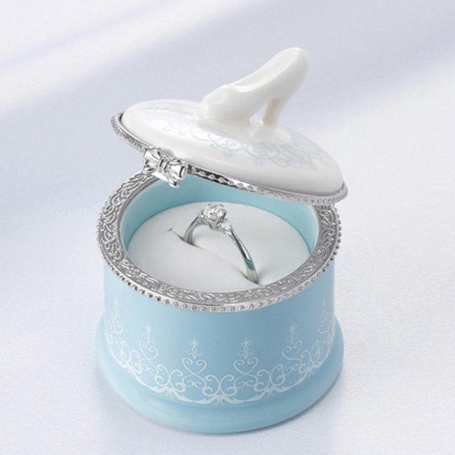 シンデレラのエンゲージリング(婚約指輪)ボックス