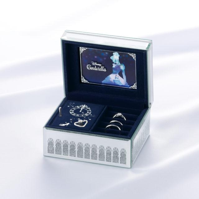 シンデレラのオルゴールジュエリーボックス