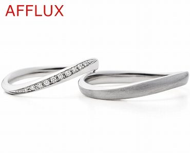 アフラックスのマリッジリング(結婚指輪)14 静岡KITAGAWA Bridal