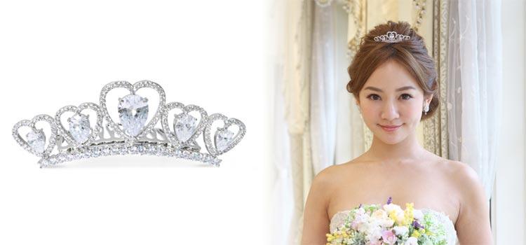 静岡KITAGAWA Bridalのティアラプレゼントフェア