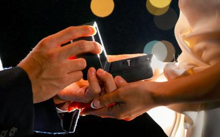 婚約指輪でプロポーズ