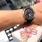 結納返しの腕時計に話題のサテライトウェーブGPS!