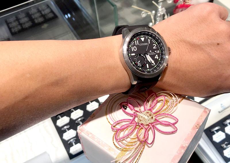 結納返しの腕時計