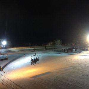 スキー場でサプライズプロポーズ