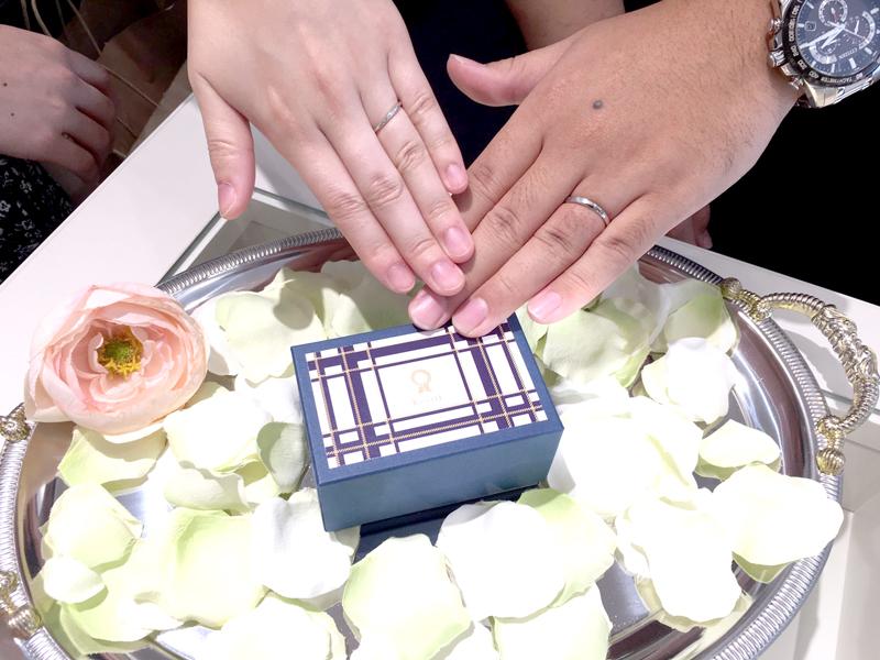 結婚指輪ご購入 静岡県kaori様
