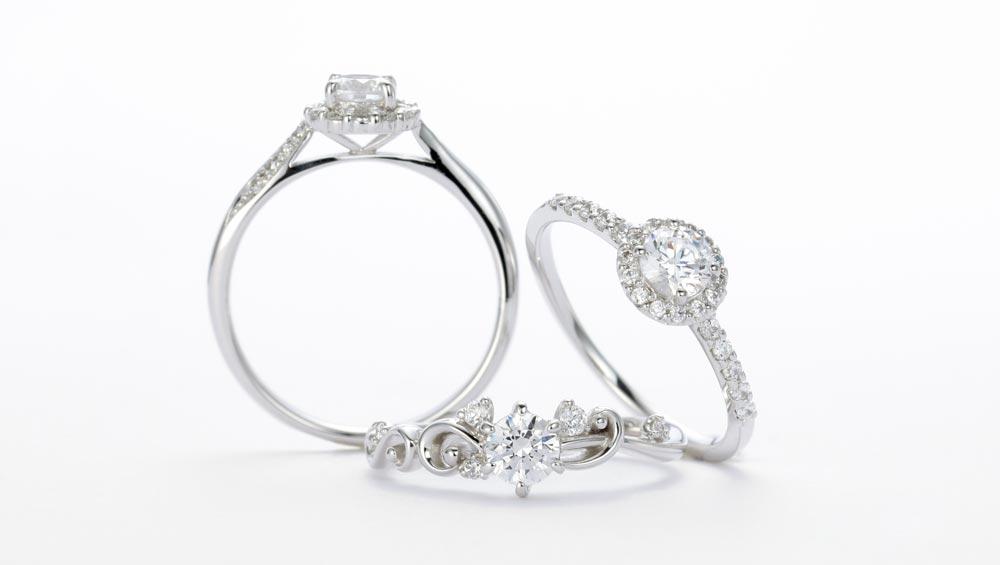 静岡KITAGAWA Bridalのエンゲージリング(婚約指輪)