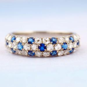 アウイナイトとダイヤモンドの指輪